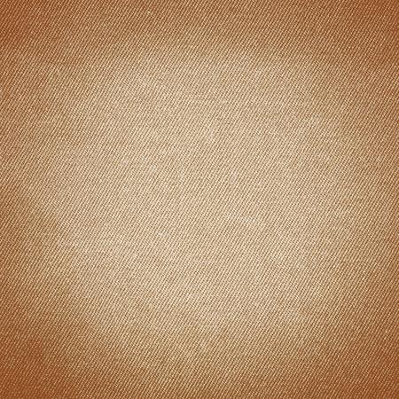 braunem Hintergrund Denim-Stoff Textur Hintergrund, Leinwand Textur Nahaufnahme Standard-Bild