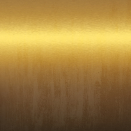 smooth surface: gold metal texture grunge background smooth surface Stock Photo