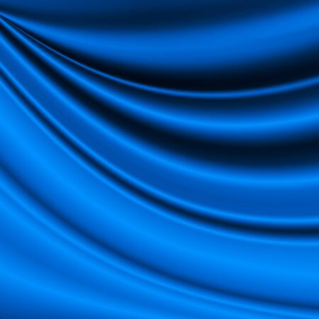 wrinkled: blue silk background texture wrinkled fabric pattern