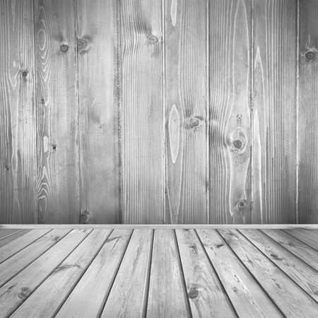 tiled wall: vintage wood texture interior background, tiled floor and wooden wall texture in black and white