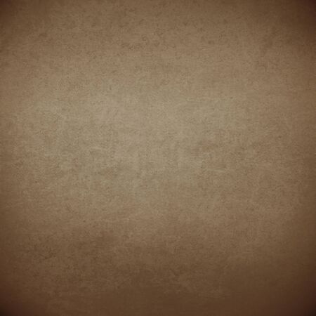 suede: brown background suede leather texture dark vignette, old parchment paper texture background Stock Photo