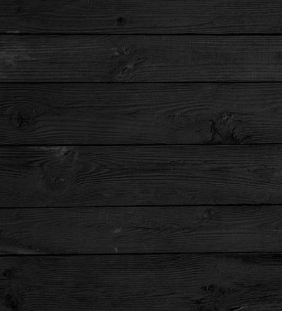 ウッド テクスチャの黒の背景板