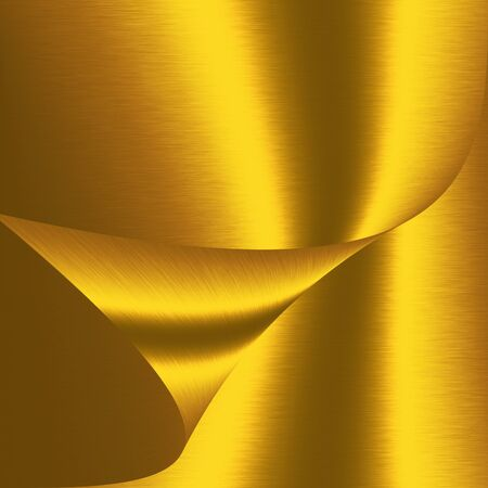 gold metal: abstract shapes background gold metal texture