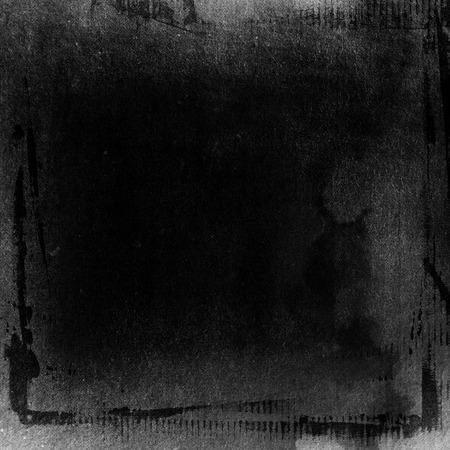 黒の塗料グランジ背景