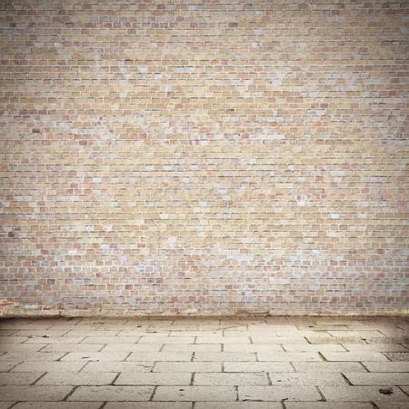 Pavement Texture Mur De Briques Et Des Blocs De Route Abandonné Milieu  Urbain Extérieur Pour Votre