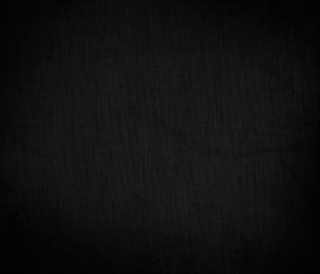 black board background canvas texture background denim pattern Stock Photo