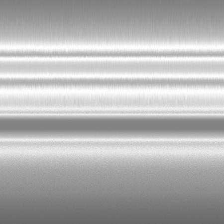 lineas horizontales: textura del metal del fondo horizontal líneas de plata de la luz modelo abstracto Foto de archivo