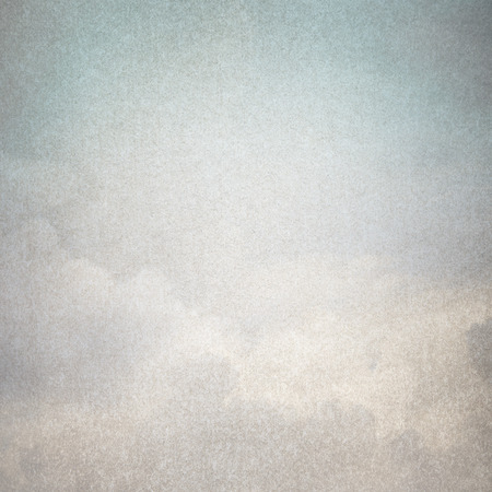 old paper texture background blue sky abstract painting Stockfoto