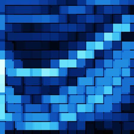ice brick: blue abstract background bricks texture pattern