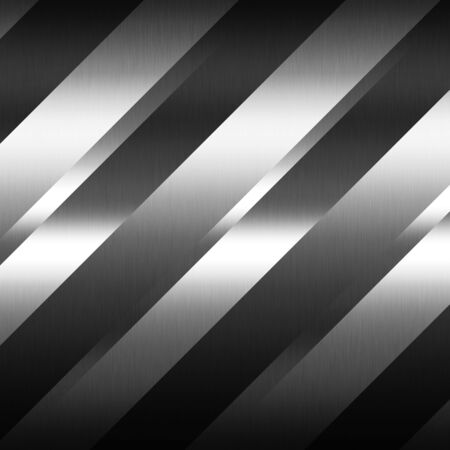 gray strip backdrop: shiny metal texture abstract background decorative stripes pattern