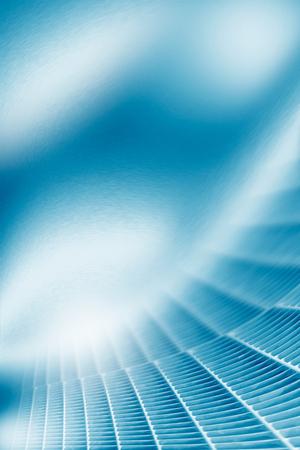 industriales: azul resumen de metal de fondo textura elemento de patrón de rejilla metálica decorativa, se puede utilizar como plantilla de tarjeta de visita o para el diseño de proyectos folleto corporativo
