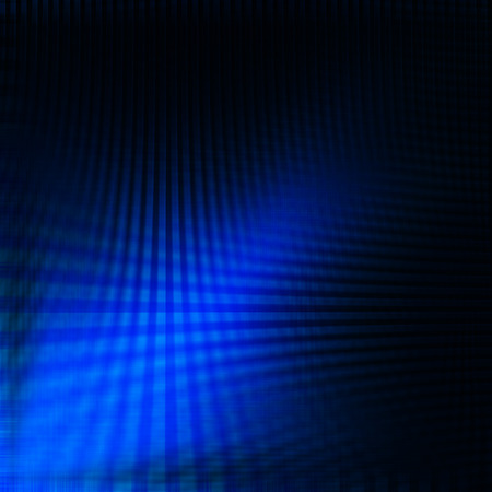 Abstract design: blue abstract wave grid line on black background, modern corporate brochure design template