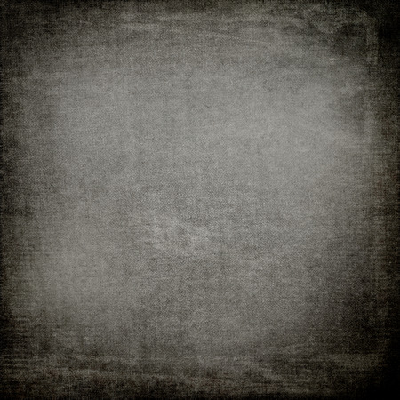 grey texture: old paper parchment texture grungy background, black denim fabric pattern, blackboard background and vignette Stock Photo