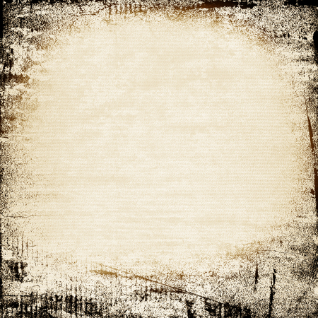 watercolor paint cardboard old paper canvas texture black ink grunge frame background
