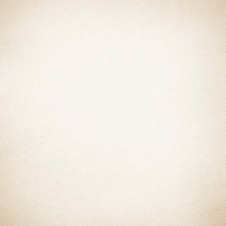 白い壁紙ベージュ キャンバスのテクスチャ背景の微妙なビネットおよび斜めの線