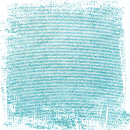 painted wall: blue painted wall paper texture background, may use as abstract christmas background Stock Photo