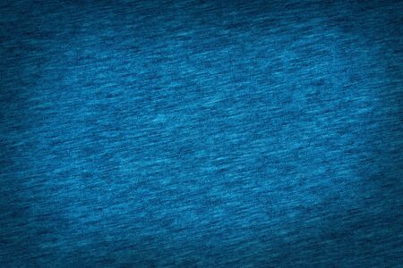 jeans fabric: dark blue jeans fabric texture background, denim material texture knitting pattern