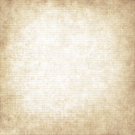 old paper background canvas texture knit pattern, scrap book paper texture background with vignette and copy space 写真素材