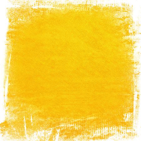 黄色の水彩ペイント グランジ背景キャンバス テクスチャ背景抽象的な線パターンやブラシ ストローク