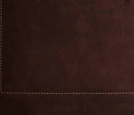 dark brown background Stitched leather texture