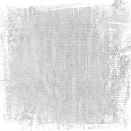 watercolor texture: bright gray grunge background, watercolor painted canvas texture abstract brush strokes white frame