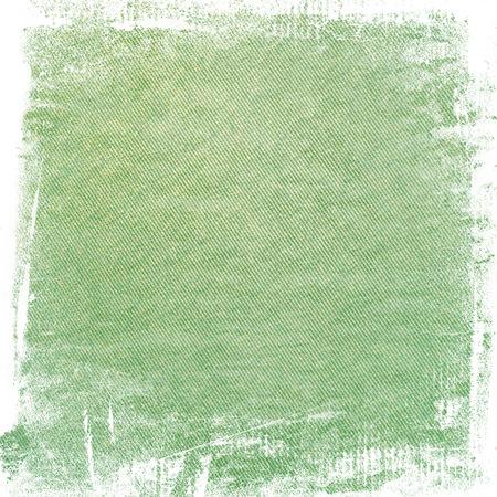 Grün Aquarell malen Grunge Hintergrund Leinwand Textur abstrakte Linien-Muster und Pinselstriche Standard-Bild - 48781999