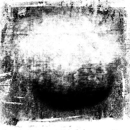 grunge achtergrond zwarte aquarel verf op witte muur papier textuur achtergrond Stockfoto