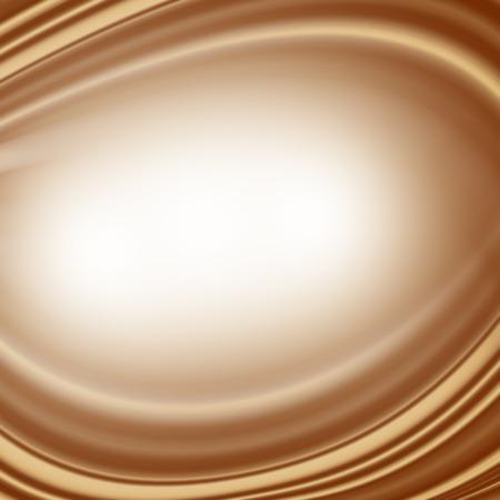 Braunem Hintergrund Zusammenfassung wirbeln Creme oder weiße Schokolade oder Kaffee mit Milch dekorativen Satin Hintergrund Exemplar Standard-Bild - 48782038