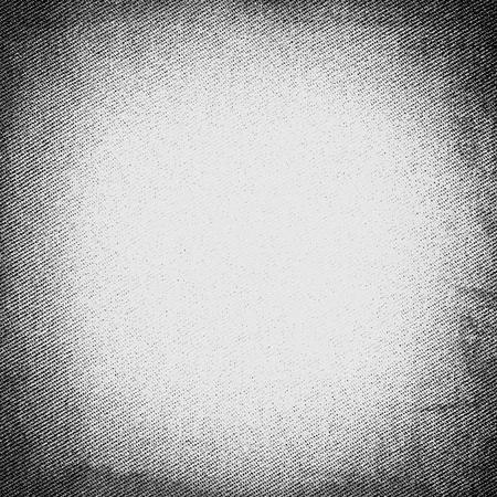 witte doek textuur met zwarte vignet