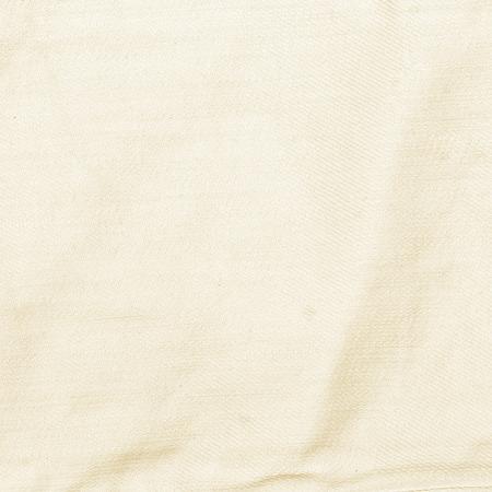gerimpelde canvas textuur achtergrond, geweven stof beige achtergrond