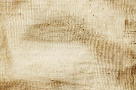 古い紙テクスチャ グランジ背景、しわのあるキャンバスのテクスチャ