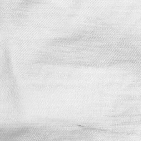 gevouwen doek textuur witte achtergrond