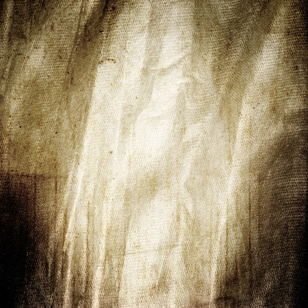 Bruine grunge achtergrond, oude canvas stof textuur
