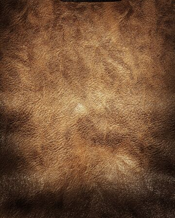 brown background old leather texture for vintage design Stock fotó