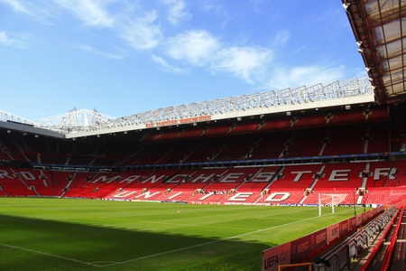 united people: Old Trafford stadium, Manchester, England