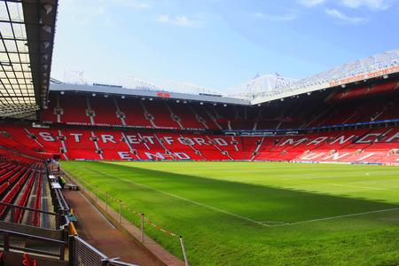 Stretford End Old Trafford stadium