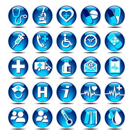 Medical Icons Stock Vector - 9088024