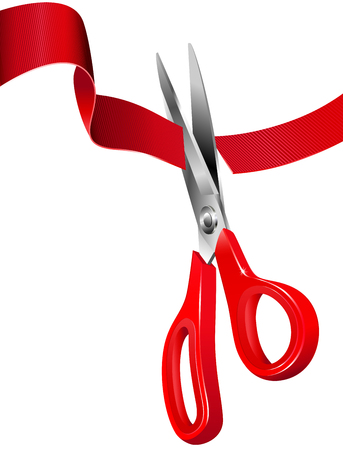 special events: Cutting the Red Ribbon