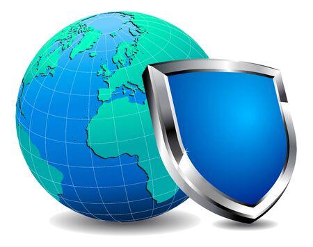 firewall: Schutzschild-Brandmauer
