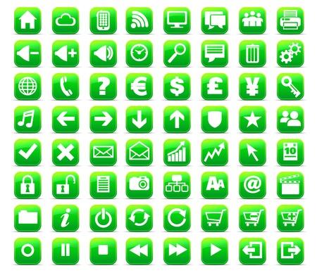 multi media: Nuovo Web e Media Internet pulsante icona