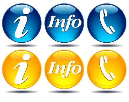통신 inforamtion를 아이콘 스톡 콘텐츠 - 11545733