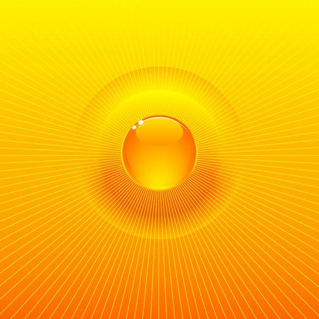 Very bright and sunny solar background Vector