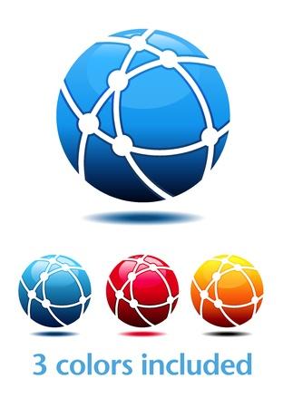 orbs: Business Logo Symbol Name Concept Illustration
