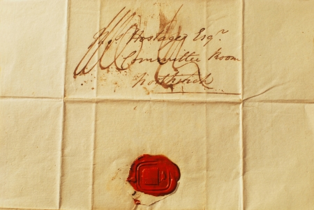 Correspondence from the 1800 photo