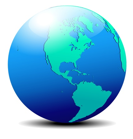 mapa de el salvador: América del Norte y del Sur Global Mundial