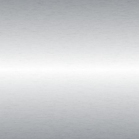 brushed aluminium: Aluminium Brushed Metal Background Illustration
