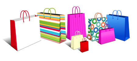 transporteur: Sacs � provisions, sacs de transport ic�nes Symboles