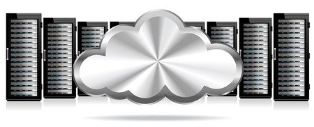 Data Storage Servers in the Cloud Vector