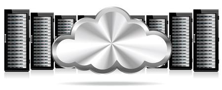 hub computer: Data Storage Servers in the Cloud