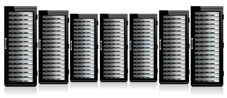 datacenter: Servers in Cabinets